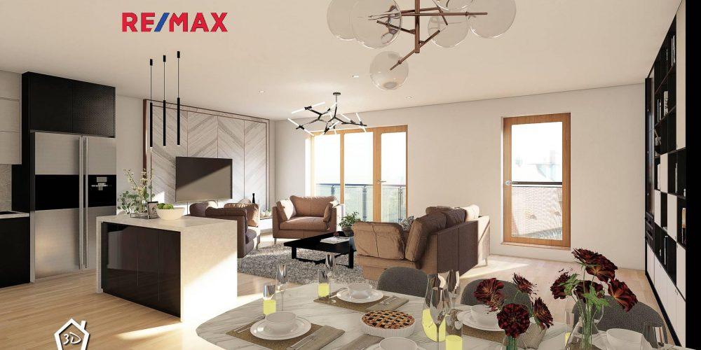 Prodej bytu 3+kk 139 m2 s dvěma balkony