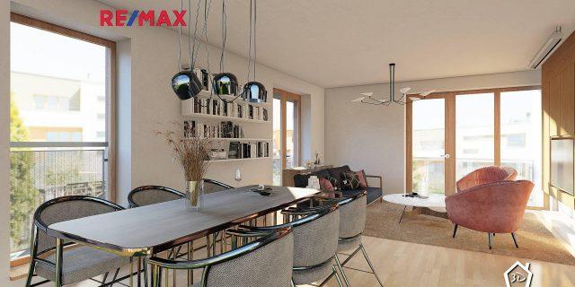 Prodej bytu 4+kk 114,3 m2 s předzahrádkou