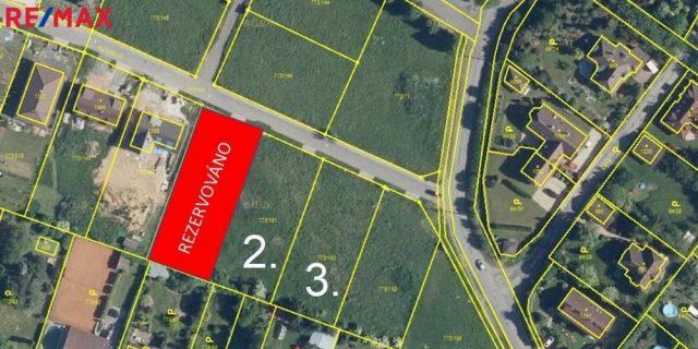Prodej zbylých 2x st.pozemků, Velké Popovice